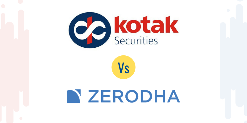 Kotak Securities vs Zerodha